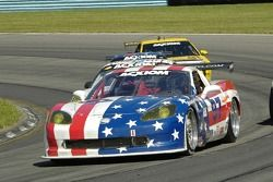 #97 Stevenson Motorsports Corvette: Tommy Riggins, Vic Rice