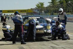 #67 TRG Porsche GT3 Cup: John Potter, Murray Marden, Brent Milner