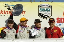 Bryce Miller, Dirk Werner and Craig Stanton take second in GT
