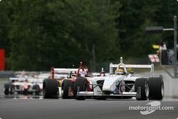 Franck Perera leads the field under yellow