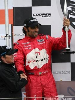 Podium: seconde place Raphael Matos