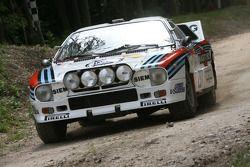 David Redward im Lancia Rallye 037 von 1983