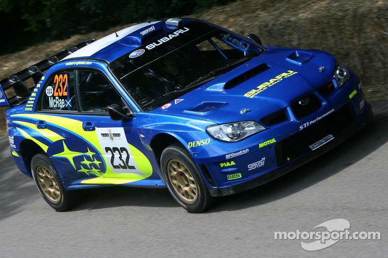 Colin McRae, Subaru