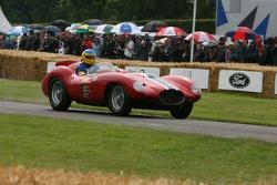Peter Sachs, Ferrari 121 LM 1954