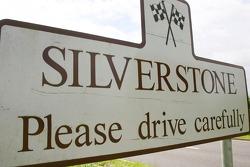 Silverstone road logo