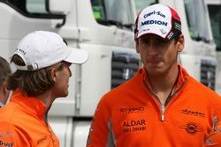 Markus Winkelhock, Test Pilotu, Spyker F1 Team, Adrian Sutil, Spyker F1 Team