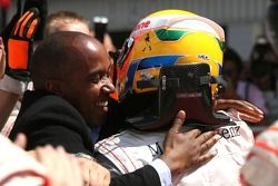 Lewis Hamilton, McLaren Mercedes y su padre Anthony Hamilton