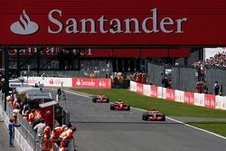 Lewis Hamilton, McLaren Mercedes, Kimi Raikkonen, Scuderia Ferrari, Fernando Alonso, McLaren Mercede