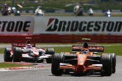 Christijan Albers, Spyker F1 Team, F8-VII y Takuma Sato, Super Aguri F1, SA07