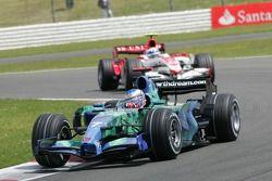 Jenson Button, Honda Racing F1 Team, RA107 y Anthony Davidson, Super Aguri F1 Team, SA07