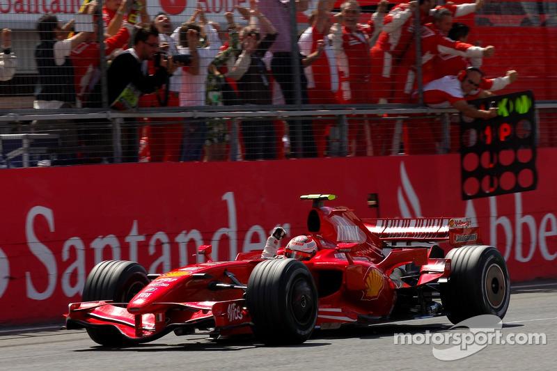 Ferrari F2007 - 9 victorias