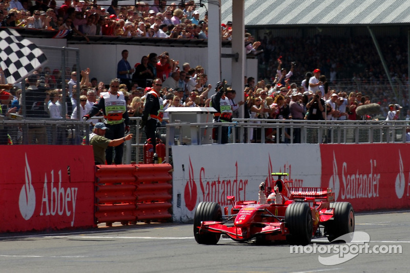 2007: Гран При Великобритании, Ferrari F2007. Стартовал 2-м