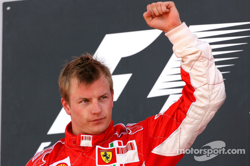 Kimi Raikkonen. 245 grandes premios (hasta ahora)