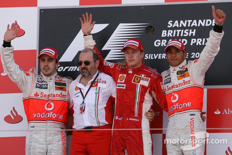 45- Fernando Alonso, 2º en el GP de Gran Bretaña 2007