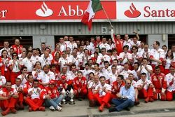 Kimi Raikkonen, Scuderia Ferrari, Felipe Massa, Scuderia Ferrari, Jean Todt, Scuderia Ferrari, Ferra