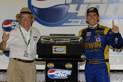 Victory lane: Jack Roush and Jamie McMurray
