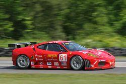 #61 Risi Competizione Ferrari 430 GT: Nic Jonsson, Eric Hélary