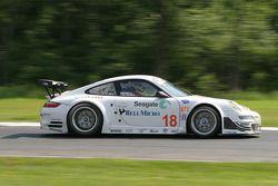 #18 Rahal Letterman Racing Porsche 911 GT3 RSR: Ralf Kelleners, Tom Milner
