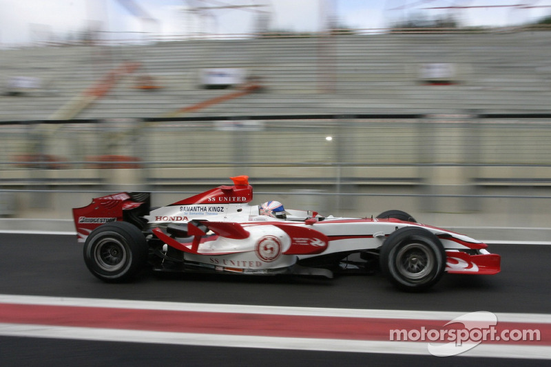 #23: Anthony Davidson, Super Aguri F1 Team SA07