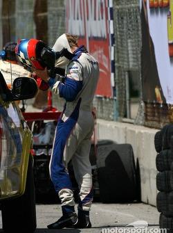 Tom Sutherland après son accident