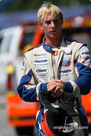 Tom Sutherland after his crash