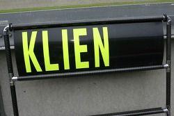 Christian Klien, Spyker F1 Team, panneau