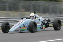 Мишель Паганен за рулем автомобиля Van Diemen