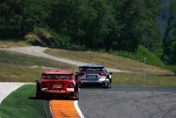 Alexandros Margaritis, Persson Motorsport AMG Mercedes, AMG Mercedes C-Klasse et Tom Kristensen, Audi Sport Team Abt Sportsline, Audi A4 DTM
