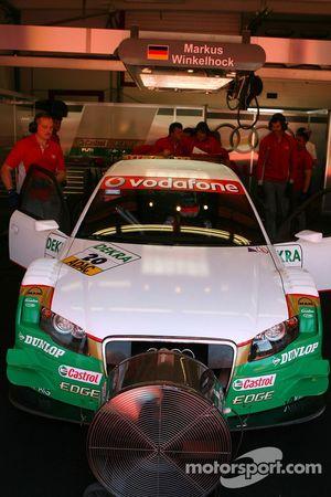 Marcus Winkelhock, TME, Audi A4 DTM, replacing Adam Carroll