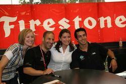 Employé d'entreprise Firestone: Tony Kanaan et Jeff Simmons