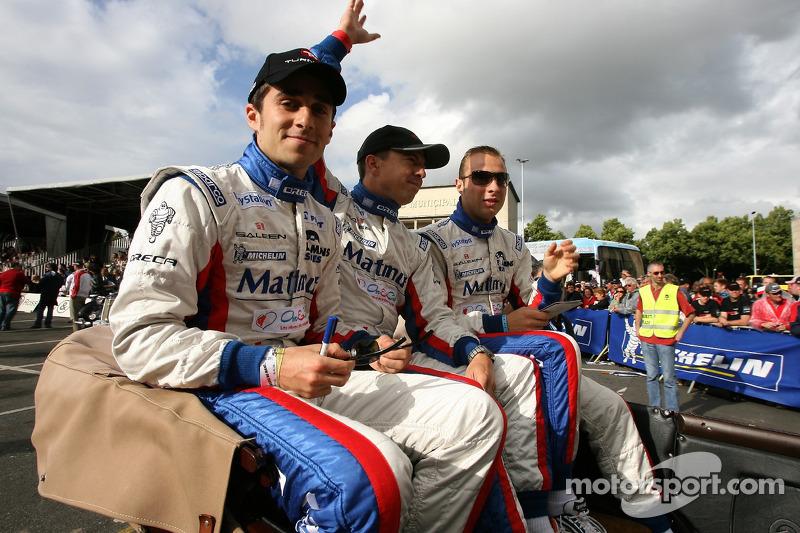 Nicolas Prost, Jean-Philippe Belloc et Franco Groppi