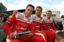 Iradj Alexander-David, Jean-Denis Deletraz et Marcel Fassler