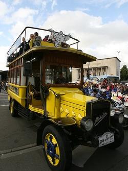 Le bus traditionnel Michelin