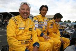 Yojiro Terada, Yutaka Yamagishi et Robin Longechal