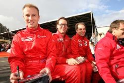 Gavin Pickering, Chris MacAllister et Marc Rostan