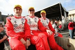 Stuart Moseley, Tim Greaves et Robin Liddell