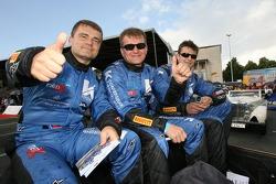 Robert Pergl, Alexei Vasiliev et Tomas Kostka