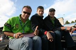 Nic Jonsson, Colin Braun et Tracy Krohn