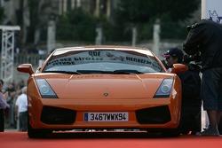 Une Lamborghini Gallardo
