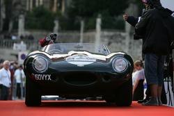 une ancienne Jaguar