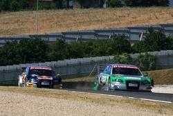 Vanina Ickx, TME, Audi A4 DTM et Martin Tomczyk, Audi Sport Team Abt Sportsline, Audi A4 DTM