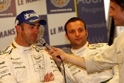 Conférence de presse d'après-course: David Brabham, Darren Turner