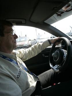 Inspection de la voie avec Daniel Perdrix de ACO