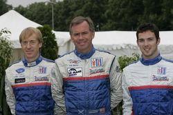 Allen Timpany, William Binnie et Chris Buncombe