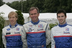 Allen Timpany, William Binnie et Chris Buncombe