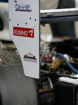 Détail de la Binnie Motorsports Lola B05 / 40 Zytek