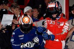 Evento de Go-kart : Marco Melandri y Casey Stoner