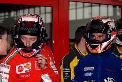 Evento de Go-kart : Casey Stoner y Marco Melandri
