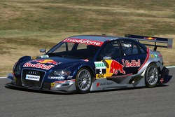 Max Biaggi, guest of Audi Sport, driving a few laps in an Audi DTM car