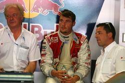 Martin Tomczyk, Audi Sport Team Abt Sportsline, avec son ingénieur de course et manager de l'équipe